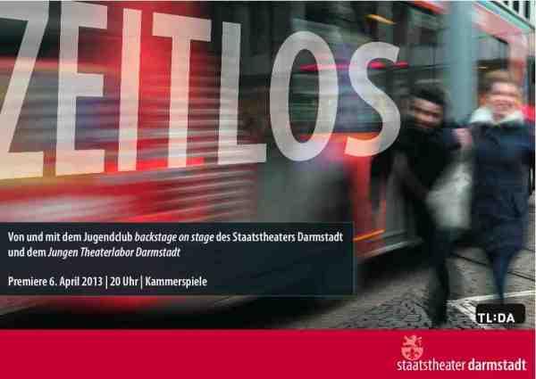 Zeitlos flyer front